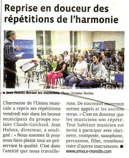 2014 09 13 progres reprise repetition harmonie 2014