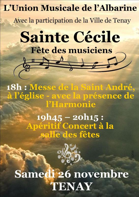 Sainte Cécile  de l'Union Musicale de l'Albarine