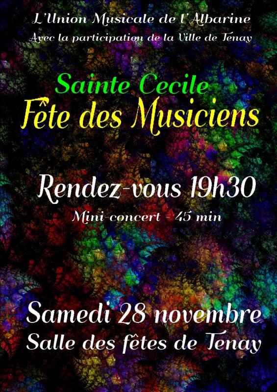 mini concert de Sainte Cécile