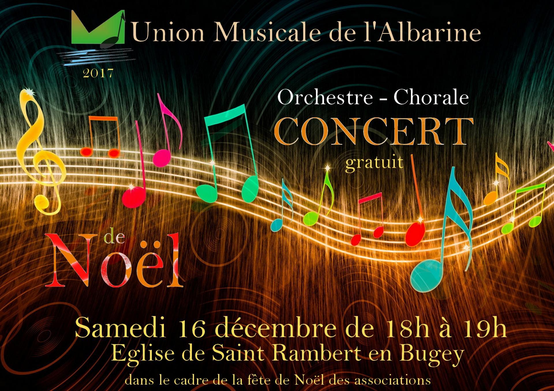 Concert de Noël 16 décembre 2017