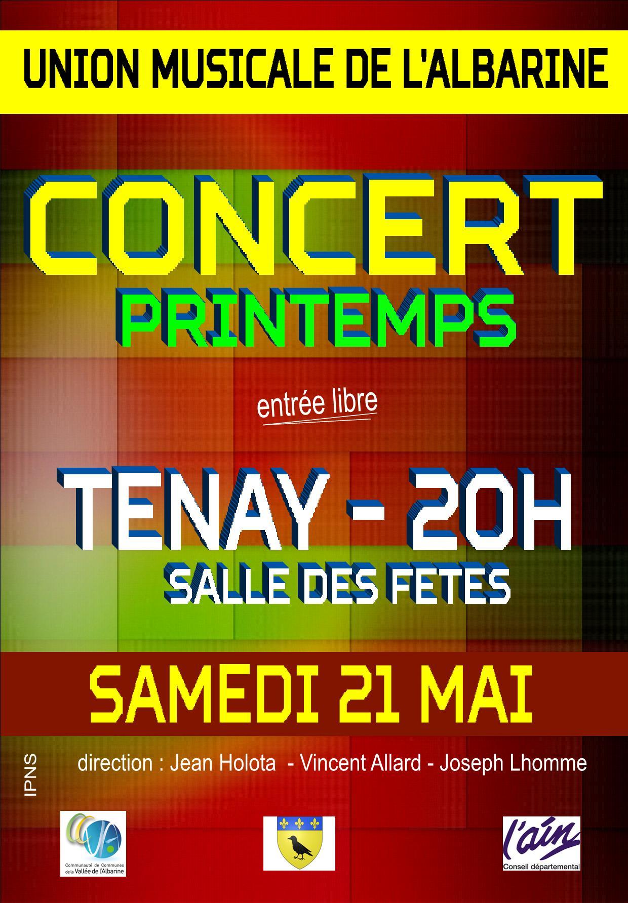 Affiche concert 21 05 16