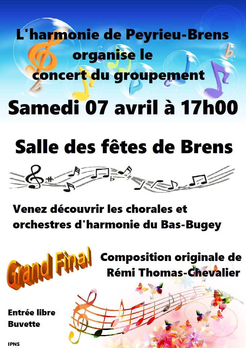 Affiche concert groupement 07 04 18