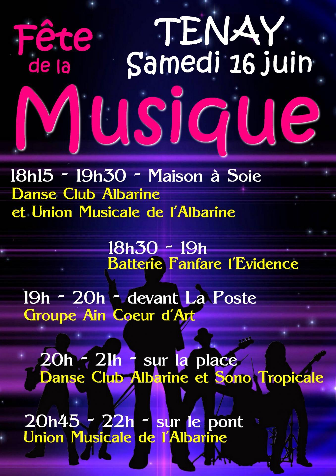 Affiche fete musique 16 06 18