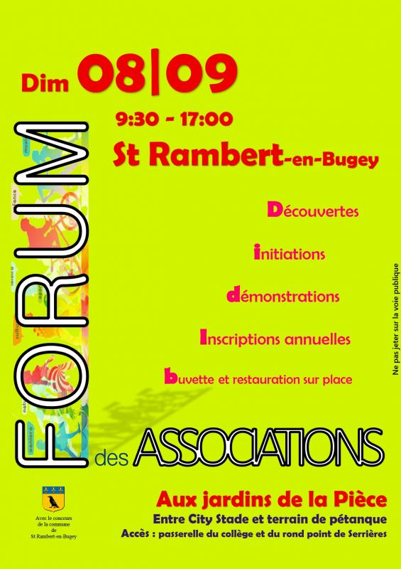 Affiche forum des associations 08-09-19