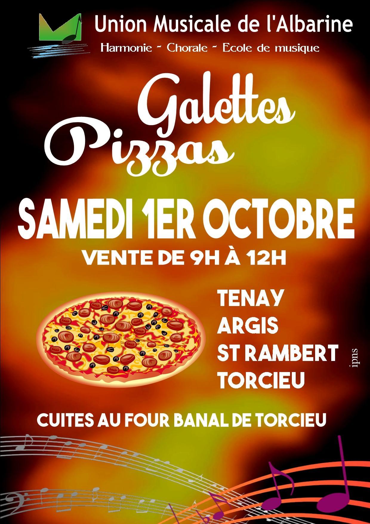 Galettes et Pizzas de l'Union Musicale de l'Albarine 2016