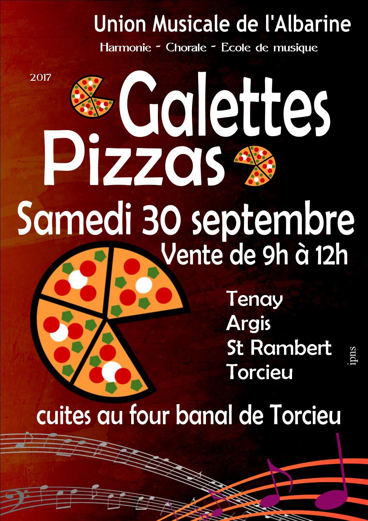 Galettes et Pizzas 2017 Union Musicale Albarine