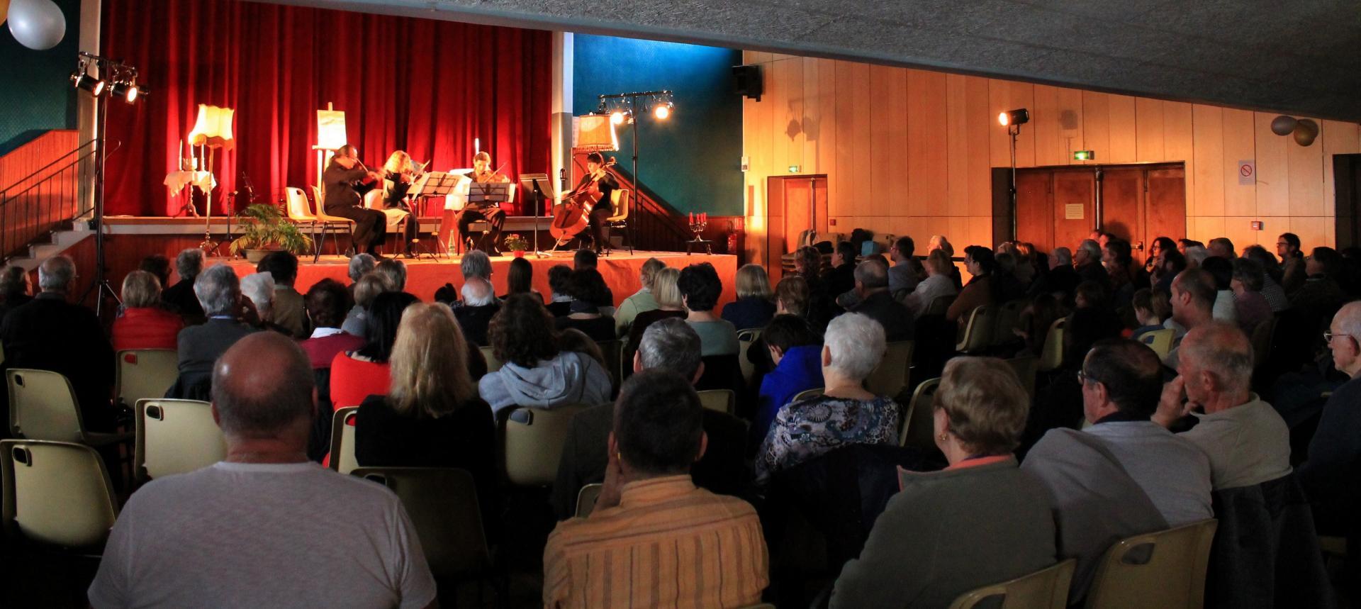 Concert cordes guitare de l'Union Musicale de l'Albarine du  12 mars 2017
