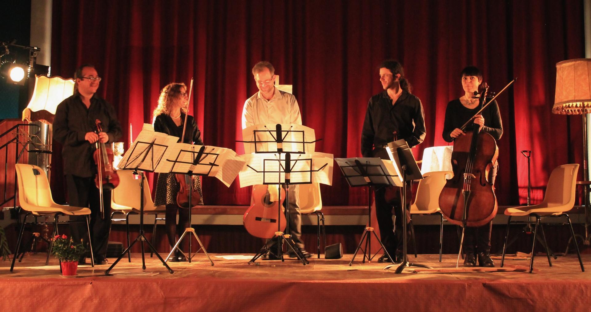 Concert cordes guitare Union Musicale de l'Albarine 12 mars 2017