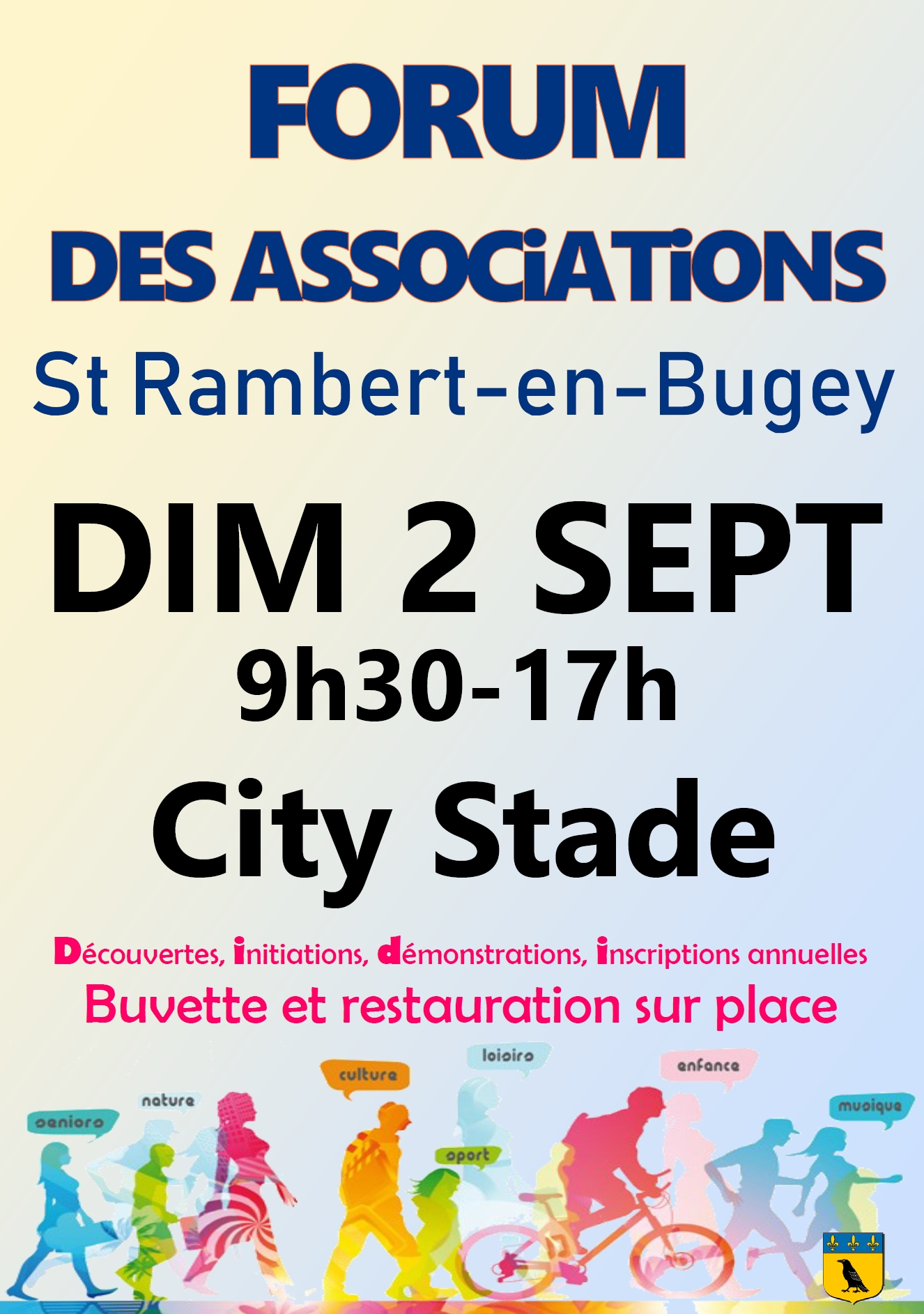 Forum des associations Saint Rambert en Bugey 2018